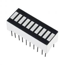 10 Segment Light Bar Graph LED Display - White