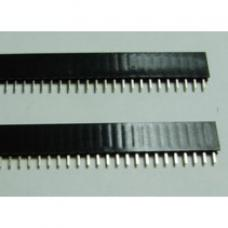 Header Pin Female Straight 40pin