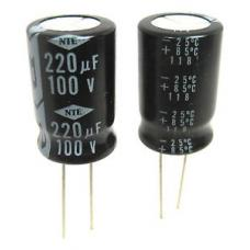220µF 100V 105°C Radial Electrolytic Capacitor