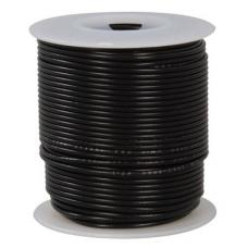 24 Awg Stranded Hook Up Wire- Black - 1 Metre