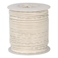 24 Awg Stranded Hook Up Wire-White - 1 Metre