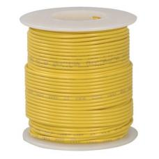 24 Awg Stranded Hook Up Wire- Yellow - 1 Metre