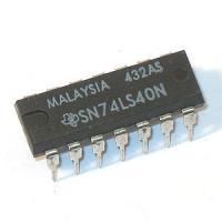 74LS40 Dual 4 Input Nand Buffer
