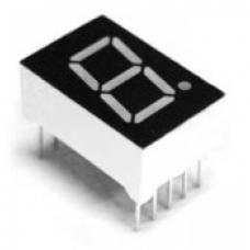 7-Segment Display - 1 Digit (Red)