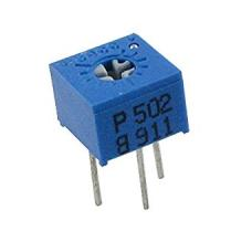 10K Trimmer Potentiometer 3362 Cermet 1 Turn