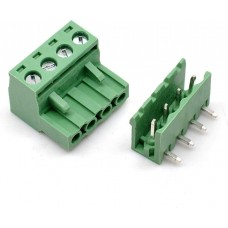 Terminal Block Plugabble - 4 pin Right Angle