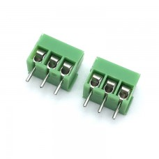 Terminal Block 3 Pin 3.5mm Pitch