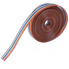 Ribbon Cable 22AWG 10 way - 1 Meter