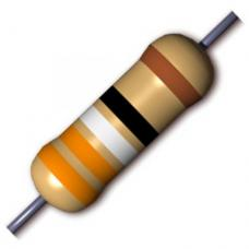 Resistor 1K OHM 1/4W 1% Metal Film