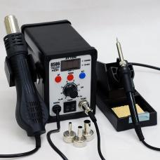ATTEN AT8586 2 in 1 Advanced Hot Air Soldering Station,SMD Rework Station,750W