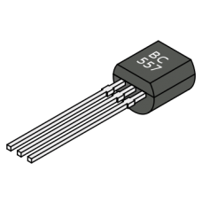 BC557 General Purpose PNP Transistor