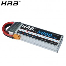 LiPo Battery 5000mAh/50C-3S (11.1V)