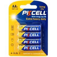 AA Batteries 1.5V R6P UM3 Heavy Duty Batteries,4PC