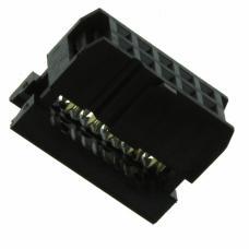 IDC Female socket 10 pin 1.27mm pitch