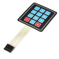 Keypad 4 X 3 Membrane