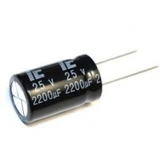 Capacitor 2200uf 25V Electrolytic