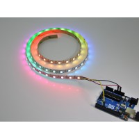 NeoPixel Digital RGB LED Strip 60 LED/m 5 Meter - WHITE (Non Waterproof)