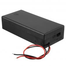 Battery Holder for 2 x 18650 3.7V battery
