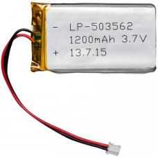 Lipo Battery 3.7V 1200mAh JST