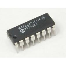 MCP3208 8-Channel 12-Bit SPI Serial Interface A/D Converter
