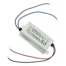 Mean Well LED Switching Power Supply - 12VDC, 1A