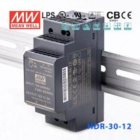 12V 2A DC Power Supply DIN Rail - HDR-30-12 (Switched Mode)