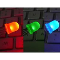 LED RGB 5mm Triple Output  (common cathode)