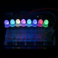 LED - RGB Addressable, PTH, 8mm (Minimum order of 5)