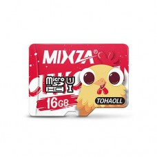 MIXZA 16GB MicroSD Class 10 Memory Card