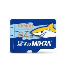 MIXZA 64GB MicroSD Class 10 Memory Card