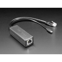 PoE Splitter with MicroUSB Plug - Isolated 12W - 5V 2.4 Amp