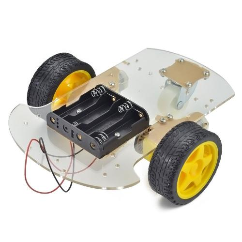 Smart bot wheel chassis
