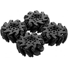 Mecanum Wheels 60mm Diameter  (4 set)