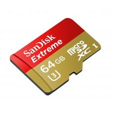 SanDisk Extreme 64 GB MicroSDXC Memory Card