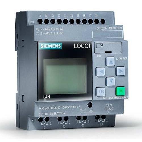 Siemens Logo 8 12 24 Rce 6ed1052 1md00 0ba8