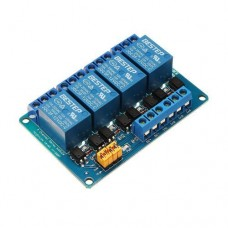 4-Channel 12V Relay Module With Opto Isolated Input