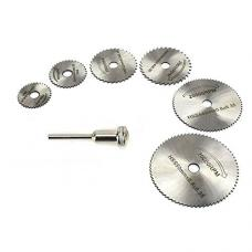 Mini HSS Circular Cutting Disc Blades for Hobby Drills