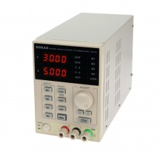 KORAD KA3005D - Precision Variable Adjustable 30V, 5A DC Linear Power Supply Digital Regulated Lab Grade