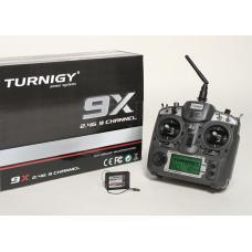 Turnigy 9X 9Ch Transmitter w/ Module & 8ch Receiver (Mode 2) (v2 Firmware)