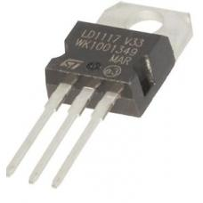 LD1117V33 Fixed 3.3V LDO Voltage Regulator