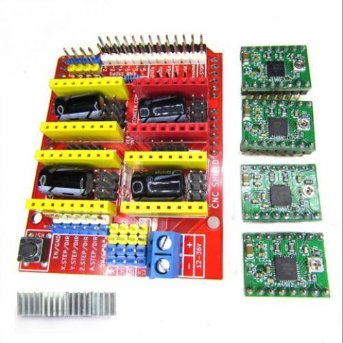 Arduino CNC Shield GRBL Compatible