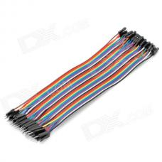 Jumper Wire 40pcs Dupont Male Female
