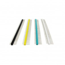 Header Pins Male 40 Pin Assorted Colour (Pack of 10)