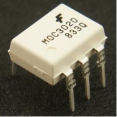 MOC3041 Zero-Cross Optoisolators Triac
