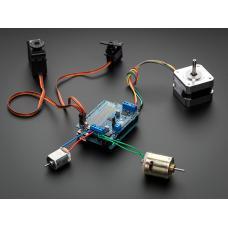 Motor/Stepper/Servo Shield for Arduino v2