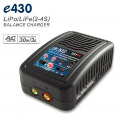 e430 2S-4S LiPo / LiFe Battery Charger