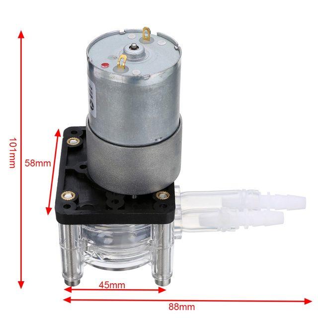 Peristaltic Pump Large Flow (Dosing Pump) 12V